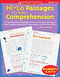 Hi/Lo Passages to Build Reading Comprehension: 25 High-Interest/Low Readability Fiction and Nonfiction Passages to Help Struggling Readers Build Compr