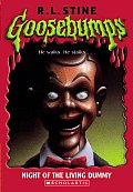 Goosebumps #07: Night of the Living Dummy Cover