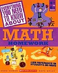 Everything You Need to Know about Math Homework: 4th to 6th Grades (Everything You Need to Know about) Cover