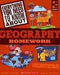 Everything You Need...Geography to Know about Geography Homework (Everything You Need to Know about) Cover