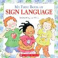 My First Book of Sign Language Cover