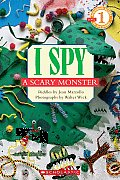 I Spy A Scary Monster Read Level 1