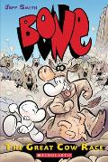 The Great Cow Race (Bone #2) Cover