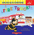 Fire Truck Sing & Read With Cd