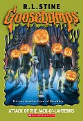 Goosebumps #48: Attack of the Jack-O'-Lanterns  Cover