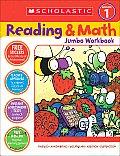 Reading & Math Jumbo Workbook: Grade 1