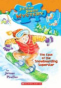 Jigsaw Jones Mysteries #29: The Case of the Snowboarding Superstar Cover