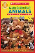 Can You See What I See Animals Read & Se