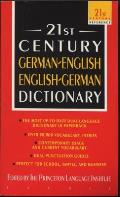 21st Century German/English-English/German Dictionary (21st Century Reference) Cover