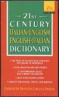 Italian-English/English-Italian Dictionary (21st Century Reference)