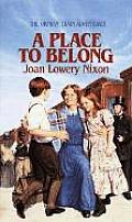 Orphan Train Adventures #04: A Place to Belong