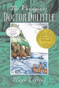 The Voyages of Doctor Dolittle (Yearling Newbery) Cover