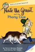 Nate the Great and the Phony Clue (Dell Young Yearling) Cover