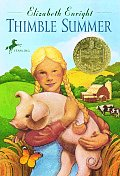 Thimble Summer (Yearling Newbery) Cover