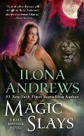 Magic Slays (Kate Daniels #5) Cover