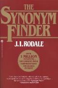 The Synonym Finder Cover