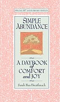 Simple Abundance #1: Simple Abundance: A Daybook of Comfort and Joy Cover