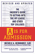 A Is For Admission The Insiders Guide To Getti