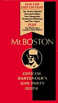 Mr Boston Official Bartenders & Party Guide