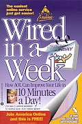 AOL: Wired in a Week with CDROM