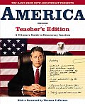 America (the Book): A Citizen's Guide to Democracy Inaction, Teacher's Edition Cover