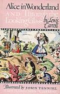 Alice in Wonderland and Through the Looking Glass (Illustrated Junior Library) Cover
