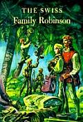 The Swiss Family Robinson (Illustrated Junior Library) Cover