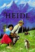 Heidi (Illustrated Junior Library) Cover