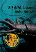 20,000 Leagues Under The Sea (Illustrated Junior Library) by Jules Verne