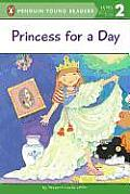 Princess for a Day (All Aboard Reading) Cover
