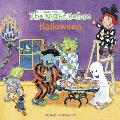 The Night Before Halloween (All Aboard Books)