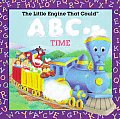 The Little Engine That Could ABC Time (Reading Railroad Books) Cover
