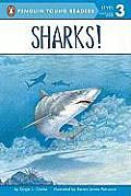 Sharks!: All Aboard Science Reader Station Stop 2 (All Aboard Reading: Level 1) Cover