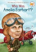 Who Was Amelia Earhart? (02 Edition) Cover