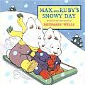 Max and Ruby's Snowy Day (Max Board Books) Cover
