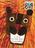 Eric Carle 123 to the Zoo A Coloring Book