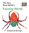 Very Busy Spiders Favorite Words