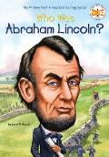 Who Was Abraham Lincoln? (Who Was...?) Cover