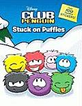 Stuck on Puffles with Sticker(s) (Disney Club Penguin) Cover