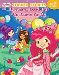 Strawberry Shortcakes Costume Party Sticker Stories