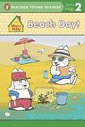 Beach Day! (All Aboard Reading - Level 1)