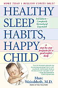 Healthy Sleep Habits, Happy Child Cover