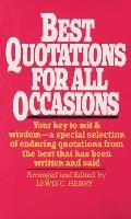 Best Quotations for All Occassions