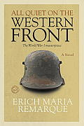 All Quiet on the Western Front (96 Edition) Cover
