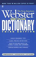New American Webster Handy College Dictionary New 3rd Edition
