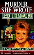 A Palette for Murder (Murder She Wrote) Cover