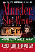 Murder Never Takes a Holiday (Murder She Wrote) Cover