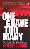 One Grave Too Many Cover