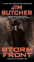 Storm Front: Dresden Files #1 Cover