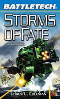 Battletech #54: Storms Of Fate by Loren L Coleman